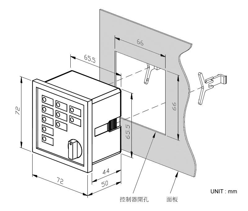 权度微电脑时控开关接线图